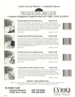 LYRIQ Princeton Review Product Sheet